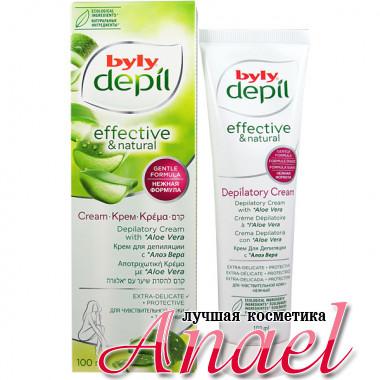 Byly Depil Нежный крем для депиляции тела с алоэ вера Depilatory Cream (100 мл)