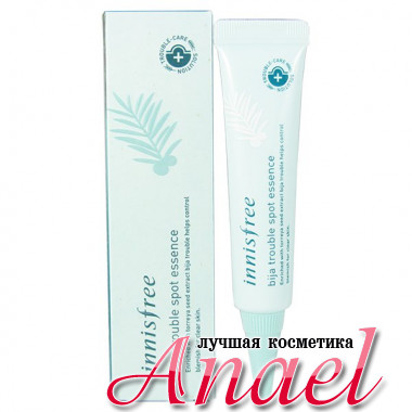 Innisfree Эссенция против акне Bija Trouble Spot Essence (15 мл)