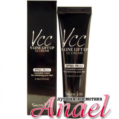 Secret Key CC-крем для подтягивания и отбеливания кожи V-Line Lift Up CC Cream SPF50+ PA+++ (30 мл)
