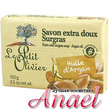 Le Petit Olivier Экстра-мягкое мыло с маслом арганы Extra Mild Surgras Soap (100 гр)