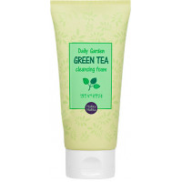 Holika Holika Пенка для умывания Зеленый Чай Daily Garden Green Tea Cleansing Foam (120 мл)