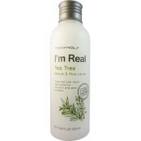 Tonymoly Лосьон с экстрактом зеленого чая для контроля себума и очищения пор I'm Real Tea Tree Sebum & Pore Lotion (200 мл)