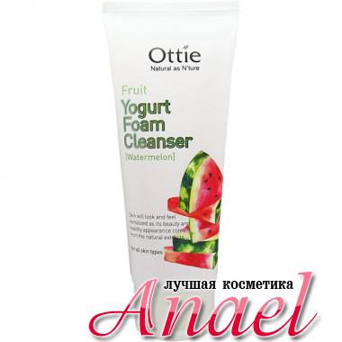Ottie Фруктово-йогуртовая пенка для умывания с арбузом Fruit Yogurt Foam Cleanser Watermelon (150 мл)