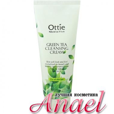 Ottie Очищающий крем с экстрактом зеленого чая Green Tea Cleansing Cream (150 мл)