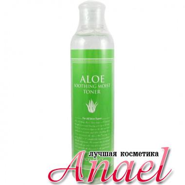 Secret Key Успокаивающий увлажняющий тонер с экстрактом алоэ Aloe Soothing Moist Toner (248 мл)