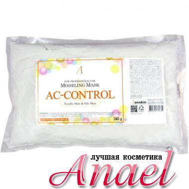 Anskin Сменный пакет альгинатной маски против акне Modeling Mask AC Control Oliy Skin & Moisturizing (240 гр)