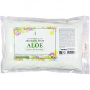 Anskin Сменный пакет успокаивающей альгинатной маски с экстрактом алоэ Modeling Mask Aloe Sensitive skin & Soothing (240 гр)