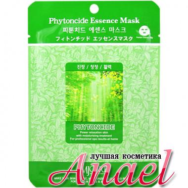 Mijin Тканевая маска с фитонцидами MJ Care Phytoncide Essence Mask (1 шт х 23 гр)