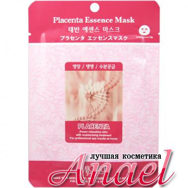 Mijin Тканевая маска с плацентарным экстрактом MJ Care Placenta Essence Mask (1 шт х 23 гр)