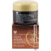 Mizon Антивозрастная ночная маска с улиточным экстрактом Snail Wrinkle Care Sleeping Pack (80 мл)