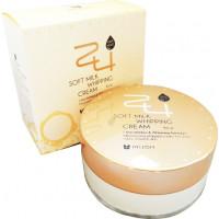 Mizon Увлажняющий крем на основе взбитых сливок 24 Soft Milk Whipping Cream (90 мл)
