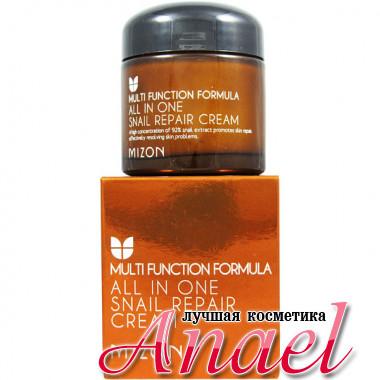 Mizon Многофункциональный восстанавливающий улиточный крем Multi Function Formula All In One Snail Repair Cream (75 мл)