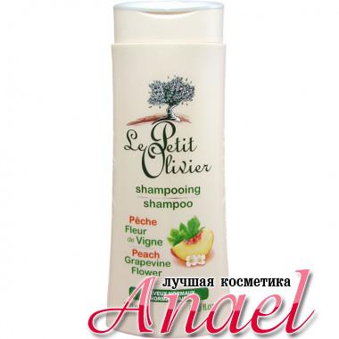 Le Petite Olivier Шампунь для нормальных волос с экстрактом персика и цветов винограда Shampoo Peach and Grapevine Flower (250 мл)