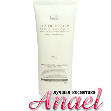 La'dor Питательная маска для волос и кожи головы с экстрактом чайного дерева Tea Tree Scalp Clinic Hair Pack (200 гр)