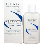 Ducray Шампунь с цинком Скванорм против сухой перхоти Squanorm Anti-Dandruff Treatment Shampoo (200 мл)