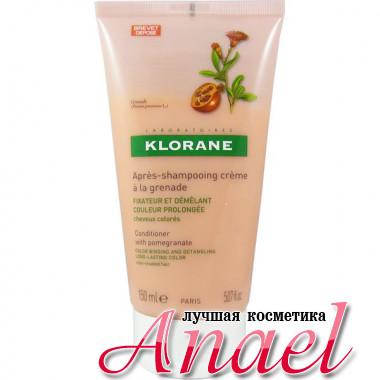 Klorane Кондиционер для окрашенных волос с экстрактом граната Conditioner With Pomegranate (150 мл)