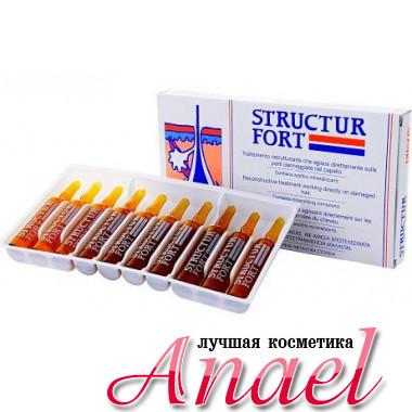 Dikson Ампульное средство для восстановления безжизненных волос Structur Fort (10х12 мл)