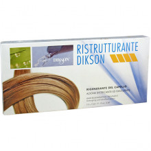 Dikson Ампульный восстанавливающий комплекс для сухих и поврежденных волос Ristrutturante (12х12 мл)