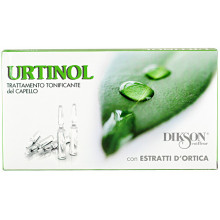 Dikson Тонизирующее средство в ампулах от жирной кожи головы и себореи Urtinol (10х10 мл)