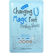 Tonymoly Носочки для пилинга ступней Changing U Magic Foot Peeling Shoes (2 х 17 гр)