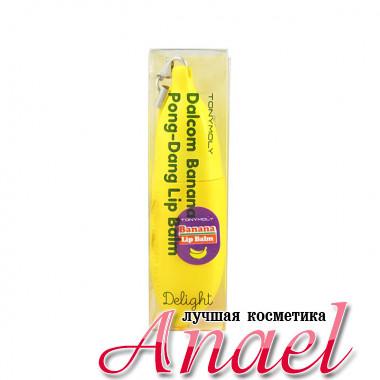 Tonymoly Питательный бальзам для губ с экстрактом банана Delight Dalcom Banana Pongdang Lip Balm (7 гр)