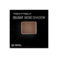 Tonymoly Матовые тени Тон №6 Капучино Delight Mono Shadow (1,4 гр)