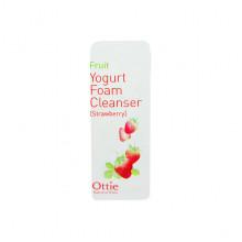 Ottie Пробник фруктово-йогуртовой пенки для умывания с клубникой Fruit Yogurt Foam Cleanser Strawberry