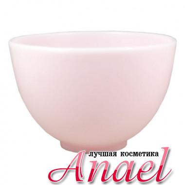 Anskin Розовая чашка для размешивания масок «Резиновый мяч» Rubber Ball (500 мл)
