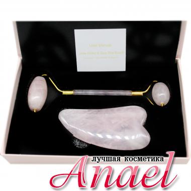Спивакъ Набор массажеров из розового кварца Massage Roller (2 предмета)