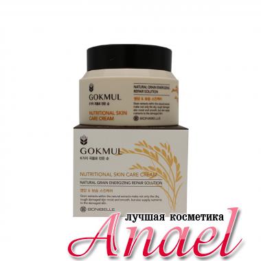 Enough Питательный крем для лица cо злаками Gokmul Natural Skin Care Cream (80 мл)