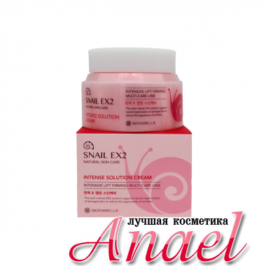 Enough Крем-лифтинг с муцином улитки Snail EX2 Natural Skin Care Intense Solution Cream (80 мл)