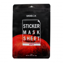 Maskbook Маска-стик для лица и тела с экстрактом яблока Sticker Mask Sheet Apple (12 шт)