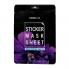 Maskbook Маска-стик для лица и тела с экстрактом фиалки Sticker Mask Sheet Violet (12 шт)