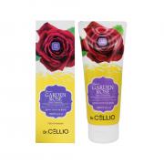 Dr. Cellio Очищающая пенка для умывания с экстрактом розы Aower Garden Rose Foam Cleansing (100 мл)