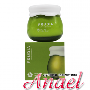 Frudia Успокаивающий-защитный крем для лица с авокадо Avocado Relief Cream (55 мл)