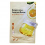 Frudia Осветляющая тканевая маска с цитрусом Citrus Brightening Bursting Energy Mask (20 мл)