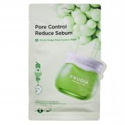 Frudia Себорегулирующая тканевая маска с зеленым виноградом Pore Control Reduce Sebum Green Grape (20 мл)