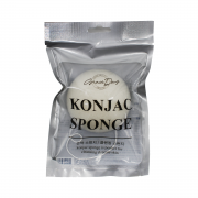 Grace Day Натуральный белый спонж конняку Konjac Sponge White