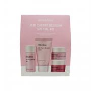 Innisfree Набор мини-средств для ухода за кожей с экстрактом лепестков сакуры Jeju Cherry Blossom Special Kit (4 предмета)