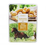 Deoproce Маска с конским жиром и картофелем Color Synergy Effect Sheet Mask Moist Shooting Smooth Potato & Horse Oil (20 мл)