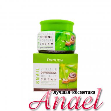 Farm Stay Увлажняющий улиточный крем для лица Visible Difference Moisture Cream Snail (100 мл)