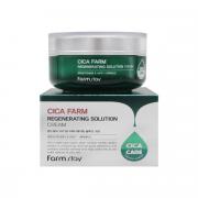 Farm Stay Восстанавливающий крем для лица с центеллой азиатской Cica Farm Regenerating Solution Cream (50 мл)