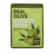 Farm Stay Тканевая маска с экстрактом оливы «Увлажнение и питание» Real Olive Essence Mask Moisture & Nutrition ( 23 мл)