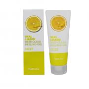 Farm Stay Пилинг гель для лица с экстрактом лимона Real Lemon Deep Peeling Gel (100 мл)