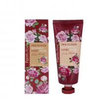 Farm Stay Крем для рук с экстрактом лепестков розы Pink Flower Blooming Hand Cream Pink Rose (100 мл)