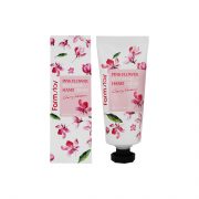 Farm Stay Крем для рук с сакурой Pink Flower Blooming Hand Cream Cherry Blossom (100 мл)