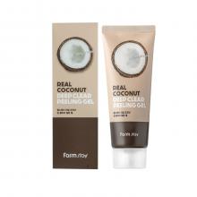 Farm Stay Пилинг гель для умывания с экстрактом кокоса Real Coconut Deep Clear Peeling Gel (100 мл)