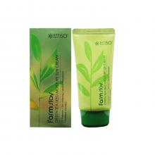 Farm stay Увлажняющий солнцезащитный крем для лица и тела Green Tea Seed Moisture Sun Cream SPF50+ (70 мл)