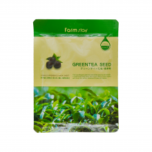 Farm stay Тканевая маска с экстрактом семян зеленого чая Visible Difference Mask Sheet Green Tea Seed (23 мл)
