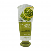 Welcos Очищающая пенка для лица с бобами маш Cleansing Story Mung Beans Deep Cleansing Foam (120 мл)
